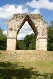 Arco maya Foto de archivo libre de regalías