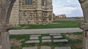 Arco medieval de la travesía lenta al lado de Castro Urdiales Cathedral 31 metrajes