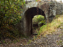 Arco medievale Fotografie Stock
