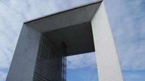 Arco moderno no francês Paris Fotografia de Stock Royalty Free