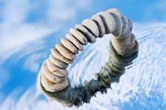 Arco molhado Imagem de Stock