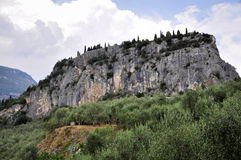 Arco - Monte Albano Royalty Free Stock Photography