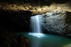 Arco natural - cascada Imagen de archivo libre de regalías