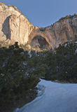 Arco natural de Ventana del La Foto de archivo