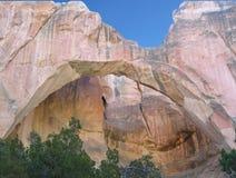 Arco natural de Ventana del La Fotografía de archivo libre de regalías
