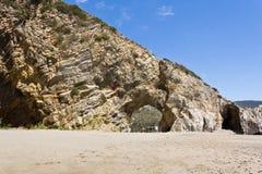 Arco natural del ` s de Palinuro Imagen de archivo libre de regalías