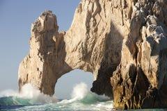Arco natural en el Land's End Cabo San Lucas México Foto de archivo