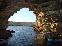 Arco nel mare Immagini Stock