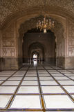 Arco nella moschea di Badshahi, Lahore, Pakistan Fotografia Stock
