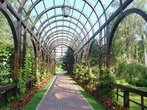 Arco no parque verde Fotografia de Stock