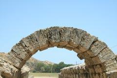 Arco in Olimpia Fotografia Stock Libera da Diritti