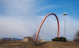 Arco Olimpico (ολυμπιακή αψίδα) στο Τορίνο Στοκ φωτογραφία με δικαίωμα ελεύθερης χρήσης
