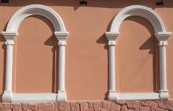 arco para a janela fotografia de stock
