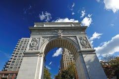 Arco quadrato di Washington Fotografie Stock