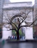 Arco quadrato di Washington, New York Immagine Stock