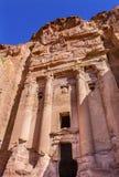 Arco real Petra Jordan da rocha do túmulo Foto de Stock Royalty Free