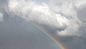 Arco-íris no céu Fotos de Stock Royalty Free