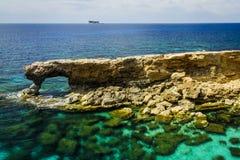 Arco rocoso natural Foto de archivo libre de regalías