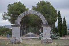 Arco romano Imagen de archivo libre de regalías