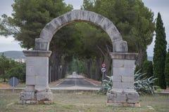 Arco romano fotografie stock libere da diritti