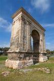 Arco romano de Bera fotografía de archivo