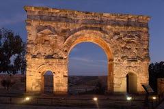 Arco romano de Medinaceli, 2do-3ro siglo, Foto de archivo