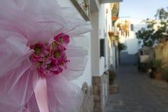 Arco rosa in ischi Fotografia Stock Libera da Diritti