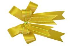 Arco rosso del regalo. Nastro Fotografia Stock
