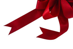 Arco rosso luminoso Immagine Stock Libera da Diritti