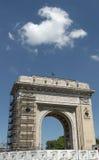 Arco rumeno di Triumph - Bucarest Immagini Stock Libere da Diritti