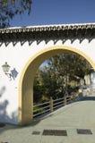 Arco sobre a ponte Foto de Stock