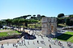 Arco storico a Roma immagini stock libere da diritti
