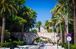 Arco sull'isola dei kos Fotografia Stock
