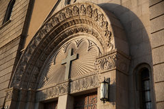 Arco tallado exquisito Imagenes de archivo
