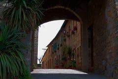 Arco in Toscana Immagine Stock Libera da Diritti