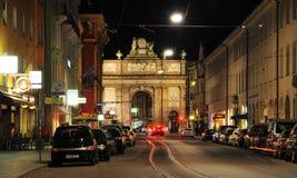 Arco trionfale Maria Theresia Innsbruck Fotografie Stock Libere da Diritti