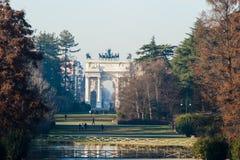 Arco trionfale in Italia Immagini Stock
