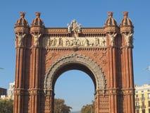 Arco triunfal Fotografía de archivo