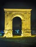 Arco triunfal de Bera en Tarragona, España. fotos de archivo