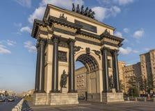 Arco triunfal em Moscovo Fotografia de Stock Royalty Free