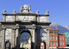 Arco triunfal fotografía de archivo libre de regalías