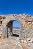 Arco in una fortezza Fotografie Stock Libere da Diritti