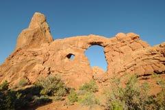 Arco Utah della torretta Immagini Stock Libere da Diritti