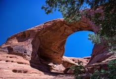 Arco in valle del monumento Immagine Stock Libera da Diritti