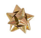 Arco variopinto del regalo Fotografia Stock