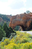 Arco variopinto sulla strada principale scenica 12 Fotografie Stock