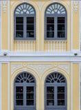 Arco Windows Fotografia de Stock