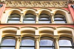 Arco Windows Imágenes de archivo libres de regalías