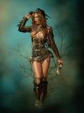 Arco y flecha, 3d CG stock de ilustración