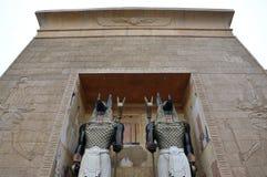 Arco y protectores de Egipto Fotos de archivo libres de regalías